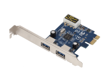 USB 3.0 Super speed 2 - port USB expresscard adapter 8402