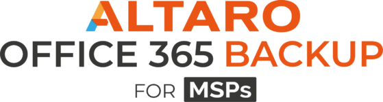 Altaro Office 365 Backup pour MSP